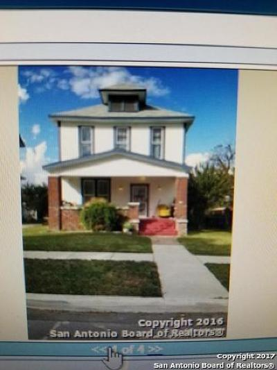 Bexar County Single Family Home For Sale: 715 Hays St