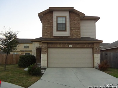 Helotes Single Family Home New: 9810 Leubeck Rnch