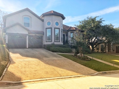 San Antonio Single Family Home New: 18847 Calle Cierra