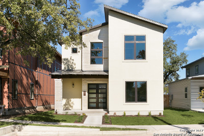 San Antonio Single Family Home New: 551 Leigh St
