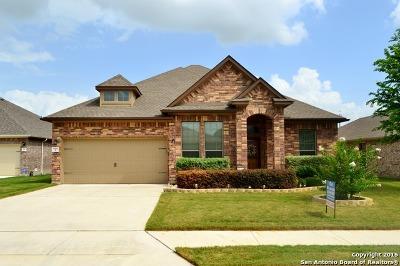 Schertz Single Family Home New: 848 Mesa Verde