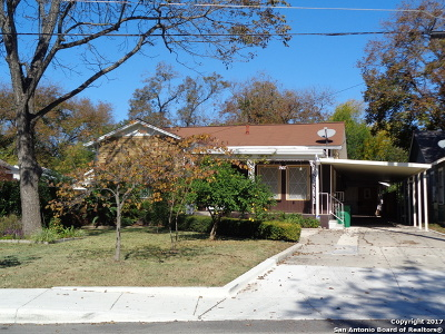 San Antonio Single Family Home For Sale: 945 Aransas Ave