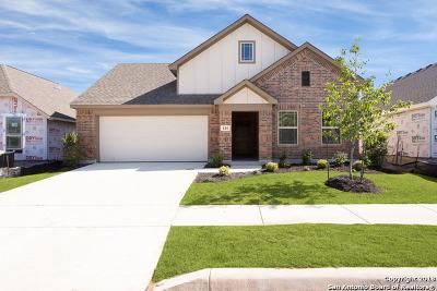 Boerne Single Family Home New: 124 Destiny Drive