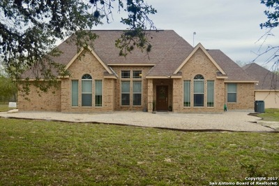 Atascosa County Single Family Home Price Change: 1206 Quail Run