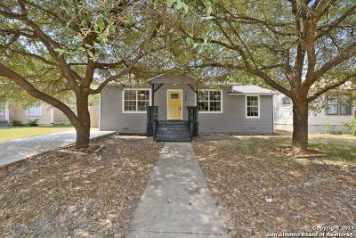 San Antonio Single Family Home Back on Market: 1124 Fulton Ave