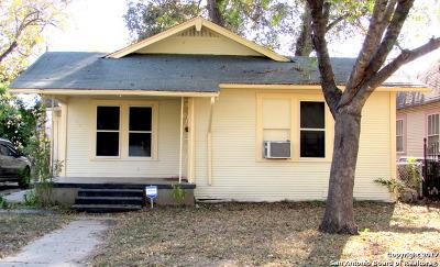 San Antonio TX Single Family Home Back on Market: $105,900