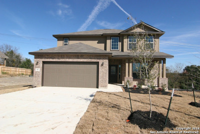 Comal County Single Family Home New: 907 Noel Forest