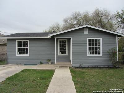 San Antonio Single Family Home Back on Market: 5014 Pettus