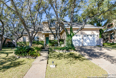 San Antonio Single Family Home New: 18007 Summer Knoll Dr