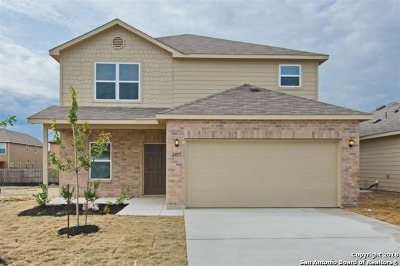 Bexar County Single Family Home New: 2431 Rainbow Basin