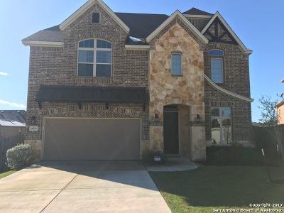 Bexar County Rental New: 24519 Chianti Way