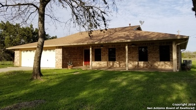 Bandera County Single Family Home For Sale: 118 Evans Rd
