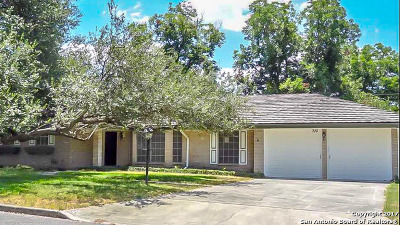 Bexar County Single Family Home New: 710 Weatherly Dr