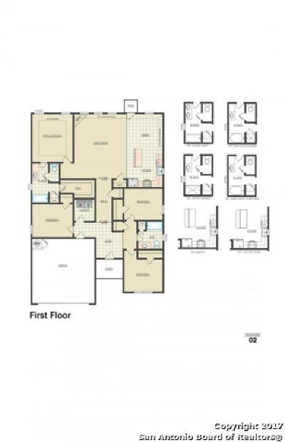 New Braunfels Single Family Home New: 157 Beretta Path