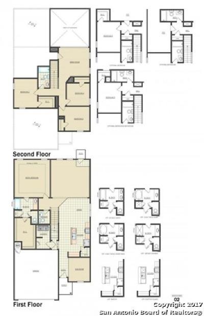 New Braunfels Single Family Home New: 328 Krieghoff Way