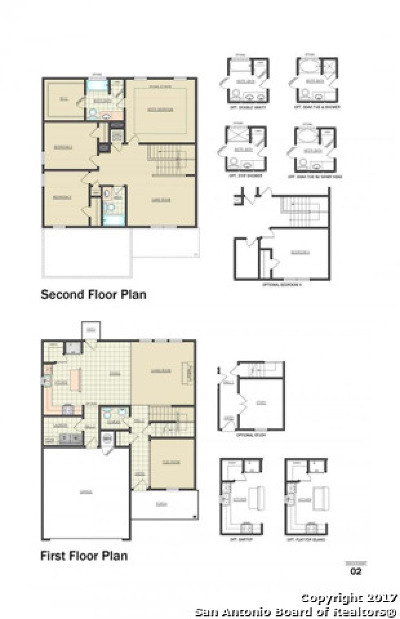 New Braunfels Single Family Home New: 324 Krieghoff Way