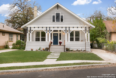 San Antonio Single Family Home New: 612 Hunstock Ave