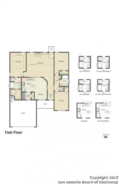 New Braunfels Single Family Home New: 322 Franchi Way