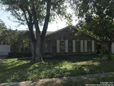 San Antonio Single Family Home New: 12902 Esplanade St