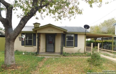 Single Family Home Price Change: 1030 W Pyron Ave