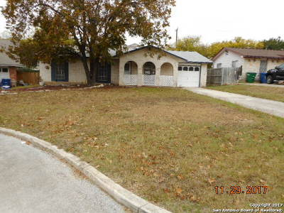 Bexar County Single Family Home New: 9515 Spring Dawn