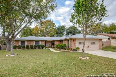 Schertz Single Family Home New: 73 Robert Stevens Dr