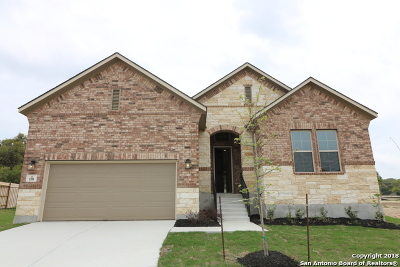 Boerne Single Family Home New: 138 Telford Way