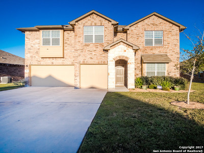 Cibolo Single Family Home Price Change: 332 Blaze Moon