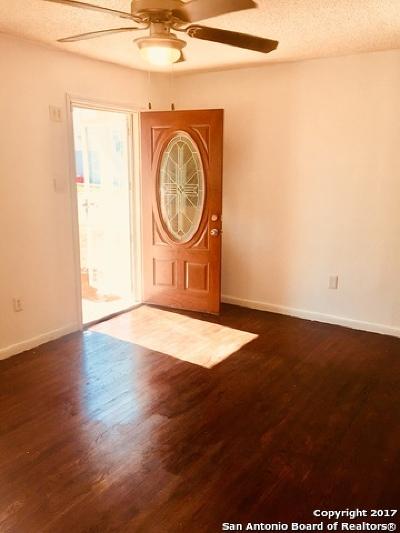 San Antonio TX Single Family Home Back on Market: $89,000