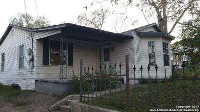 San Antonio Single Family Home Back on Market: 210 Chickering Ave