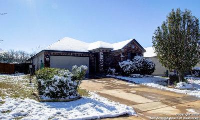 Schertz Single Family Home New: 6218 Fred Couples