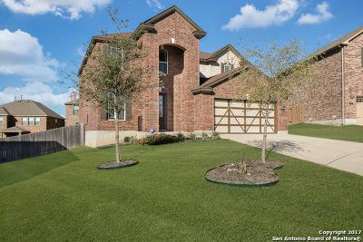 San Antonio Single Family Home New: 21211 Leslie Carlson