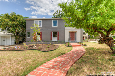 Olmos Park Single Family Home New: 208 Belvidere Dr
