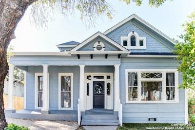 San Antonio Single Family Home New: 1107 Olive St
