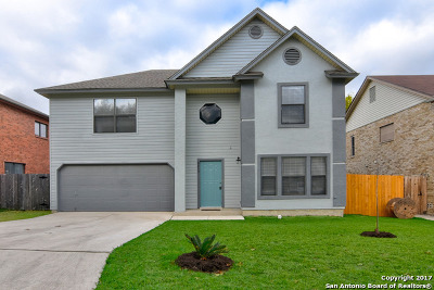 Converse Single Family Home New: 8235 Cantura Mls