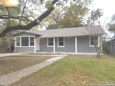 San Antonio TX Single Family Home Back on Market: $129,000