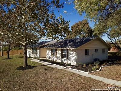 Cibolo Single Family Home New: 521 Weil Rd