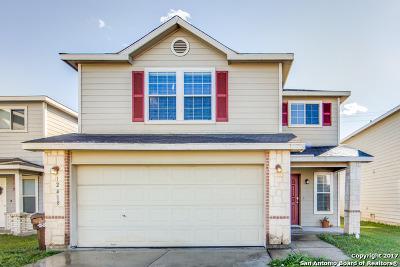 Bexar County Single Family Home New: 12418 Kava Knls