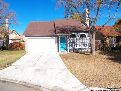 San Antonio Single Family Home New: 10243 Sunrise Fld