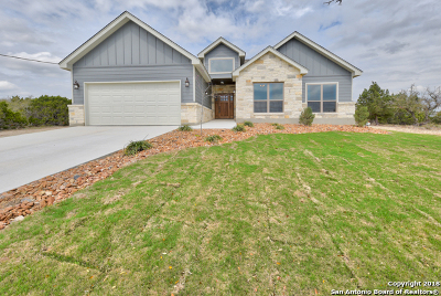 Comal County Single Family Home New: 1455 Cottonwood Rd