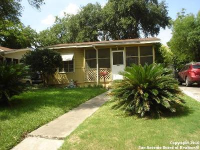 San Antonio Single Family Home New: 839 John Page Dr