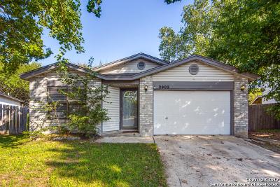 San Antonio Single Family Home New: 2903 Broad Plain Dr