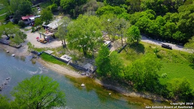 New Braunfels Residential Lots & Land New: 7462 River Rd
