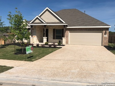 Comal County Single Family Home New: 32380 Lavender Cove