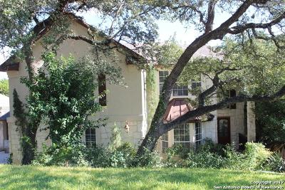 San Antonio Single Family Home New: 19734 Wittenburg