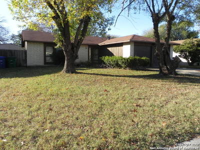 Bexar County Single Family Home For Sale: 2931 Keslake St