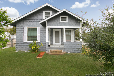 San Antonio Single Family Home New: 303 W Lubbock St