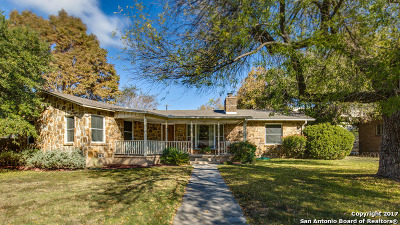 Alamo Heights Single Family Home For Sale: 139 W Oakview Pl
