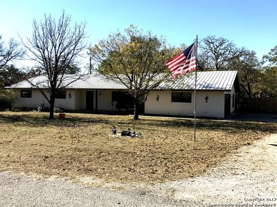 Bandera County Single Family Home New: 155 Sunrise Ln