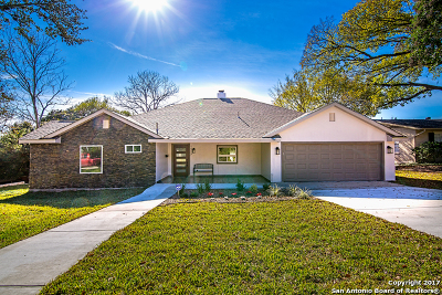 San Antonio Single Family Home Price Change: 1006 Wiltshire Ave
